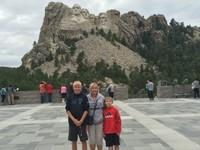 Visiting Mount Rushmore this summer.
