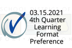 03.15.2021 4th Quarter Learning Format Preference