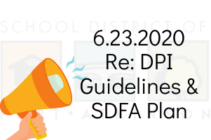 6.23.2020 DPI Guidelines & SDFA Plan Update